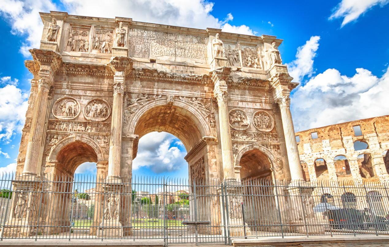 Konstantin Takı, Roma