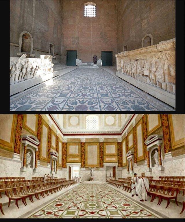 Curia Julia: Roma Dönemi ve Günümüz.