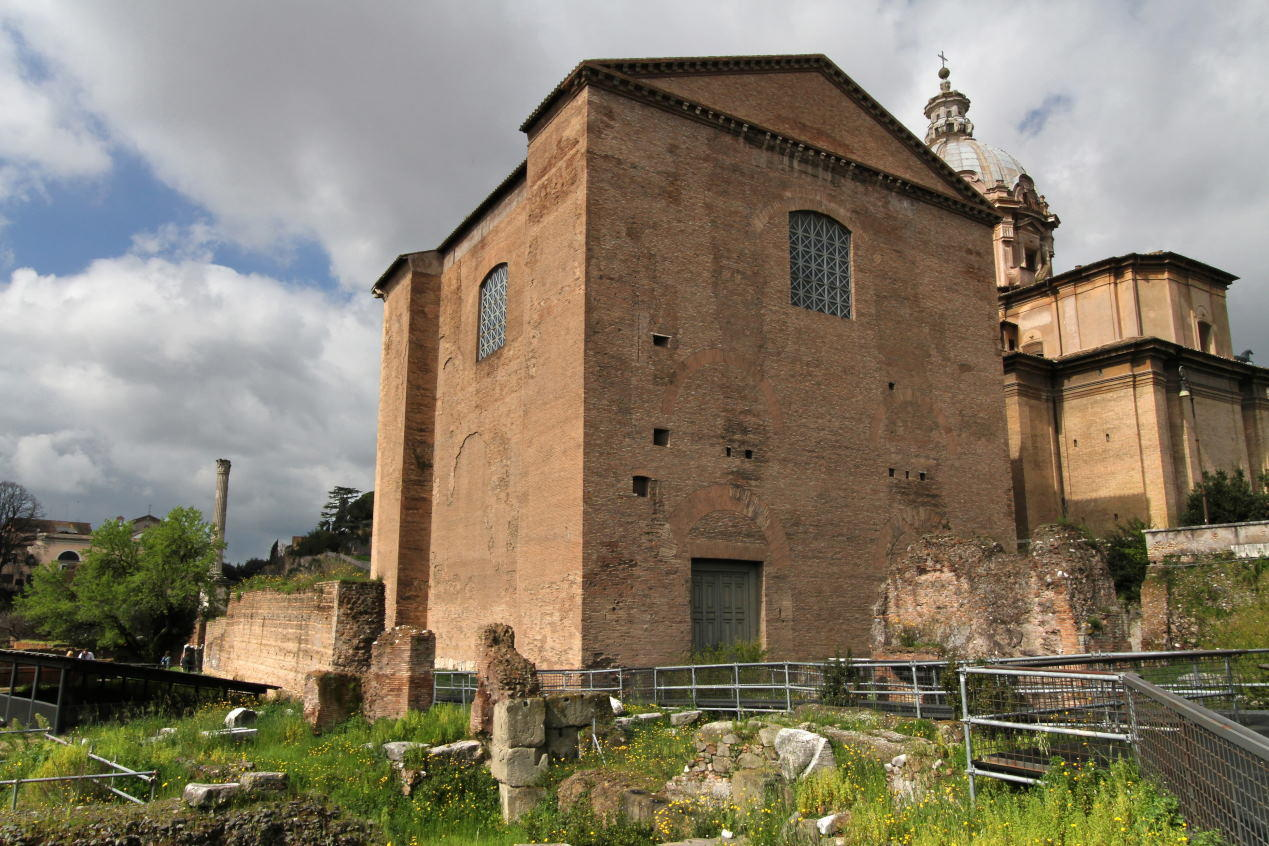 Curia Julia, Roma Forumu, Roma, İtalya.