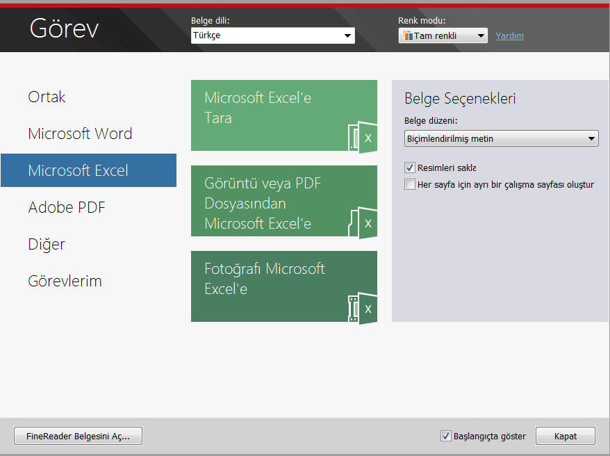 finereader-ocr yazılımları