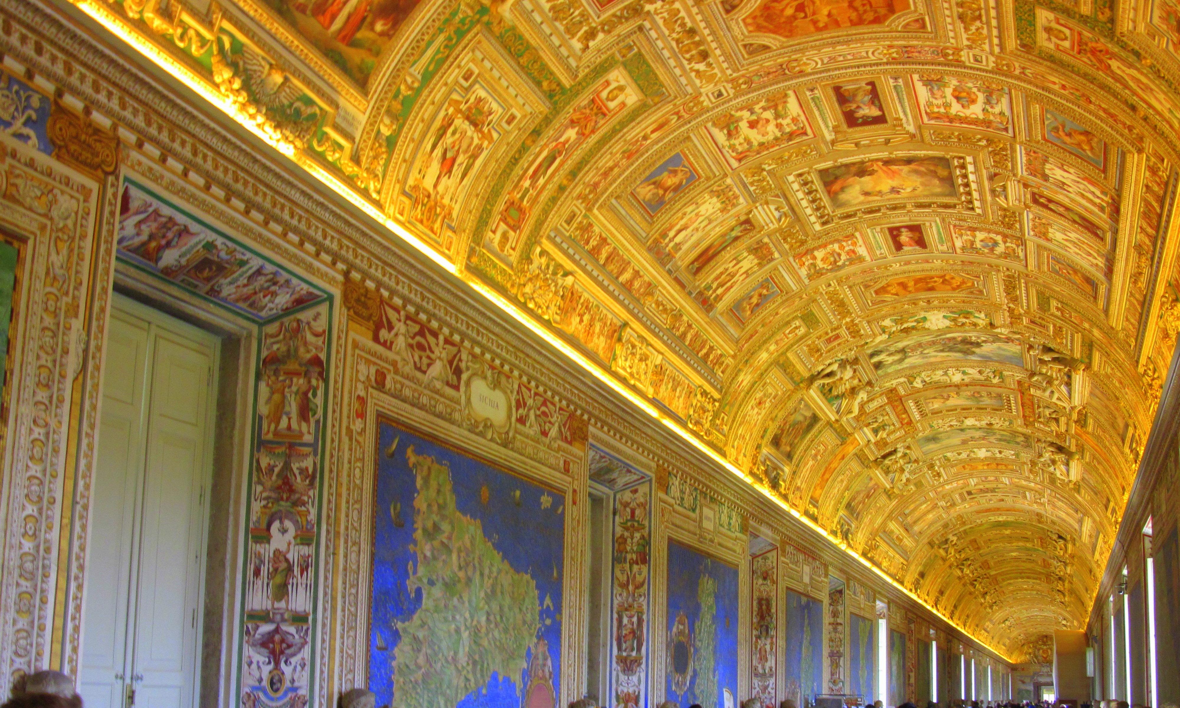 Vatikan Müzesi-Haritalar Galerisi