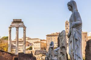 Bir Günde Roma - Bakireler Evi - Roma Forumu
