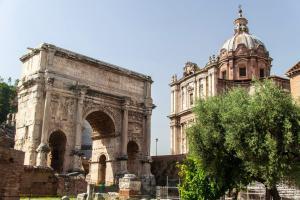 Bir Günde Roma - Septimius Severus'un Zafer Takı, Roma Forumu