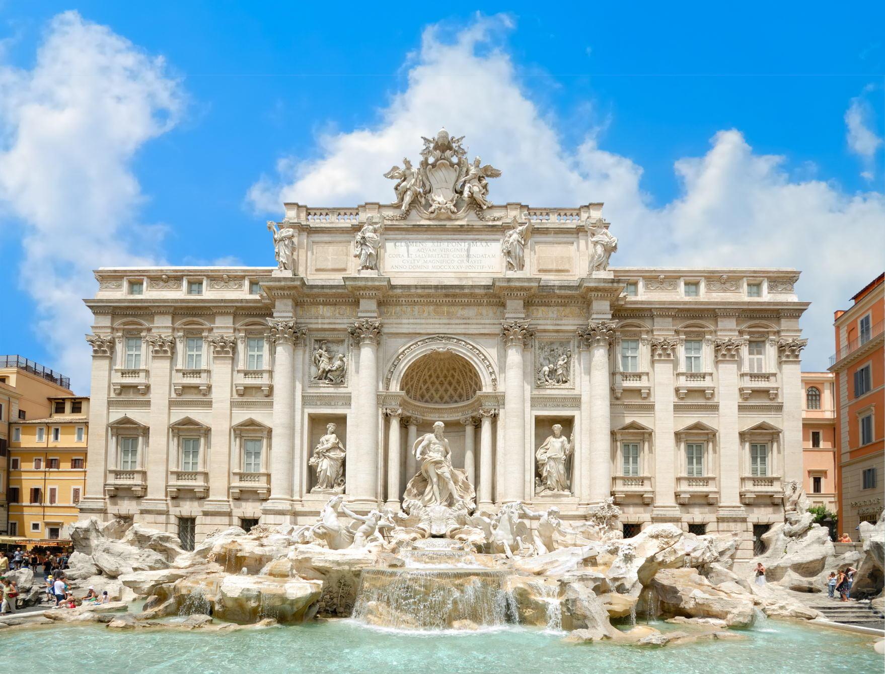 Bir Günde Roma - Trevi Çeşmesi